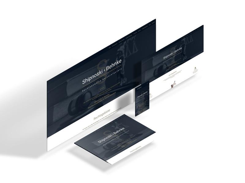 Portfolio: Responsive Design von shipnoski-behnke.de